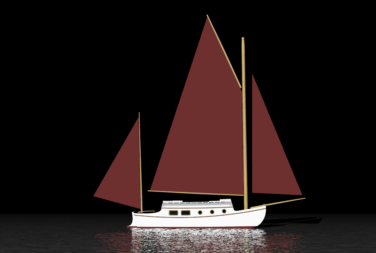 Fishing: Here Leeboard sailboat plans