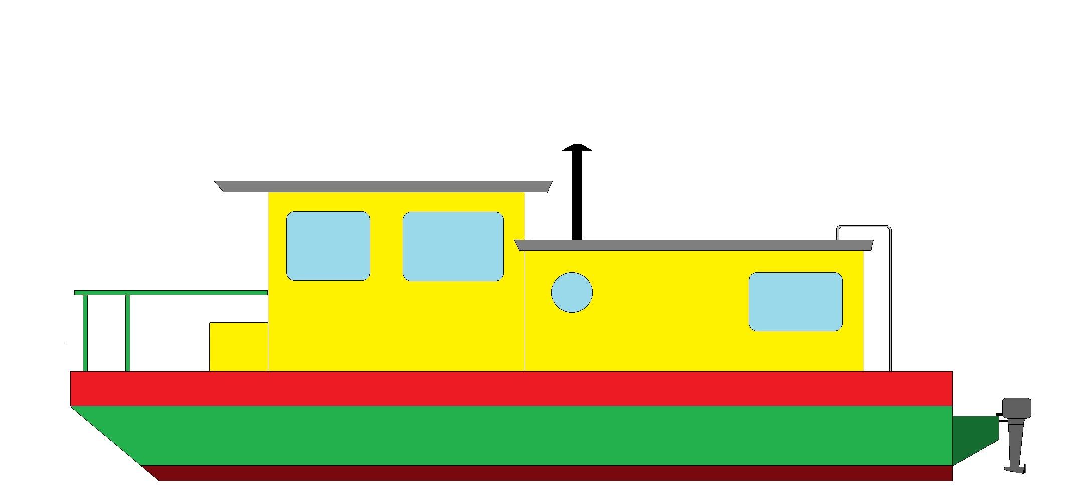 Shanty boat plans free | Sam Boat