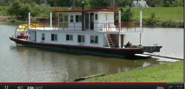 The Dream Fulfilled: Homebuilt Paddlewheel