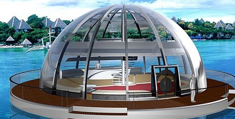 Eco Homes: Solar-powered houseboat