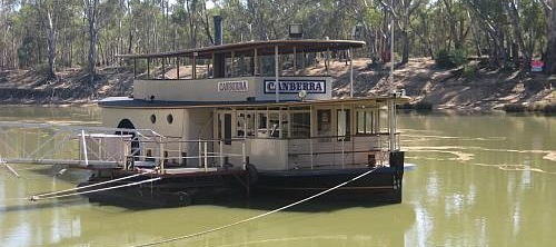 Ideas: Paddlewheel Steamers on the Murray