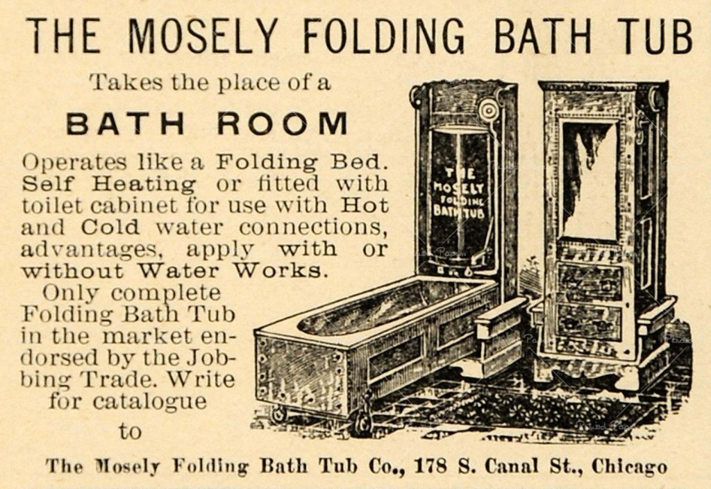 Moseley Folding Bathtub