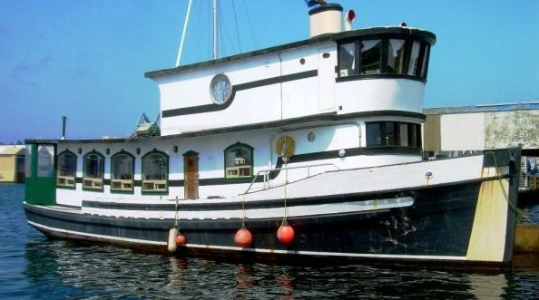Trawler Conversion Shantyboat