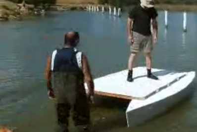 Videos:  Homebuilt Pontoon and Raft Boats