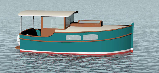 Update: New 20 Foot Shantyboat Plans
