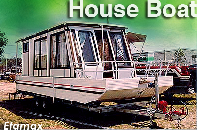 Aluminum Houseboats, Sampans, and Such