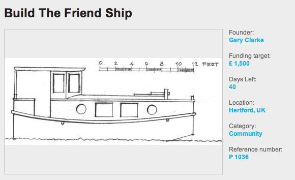Help Build Friendship Boat | ShantyboatLiving.com