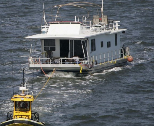 Houseboat Overstays Welcome