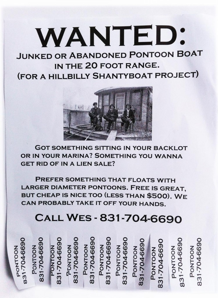 Wanted:  Not sinking boat