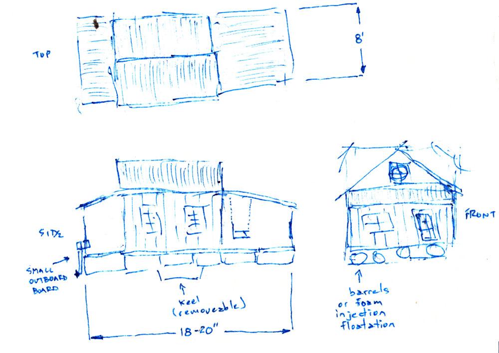 Sketchy Napkin Plans