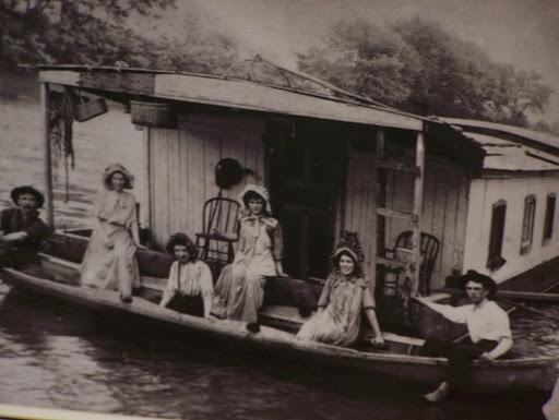 Shantyboat Night in Huntington, West Virginia