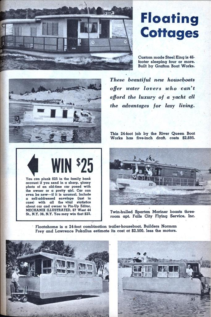 Floating Cottages (Jul, 1956)