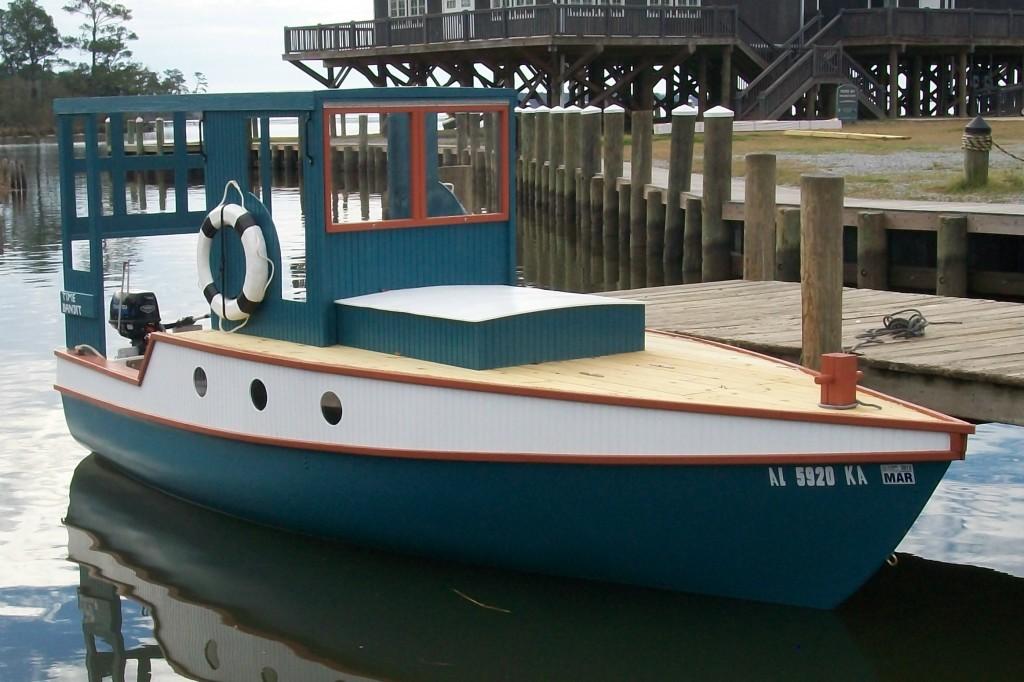 """Fifth """"Installment"""" – 21 foot Shanty Trawler"""