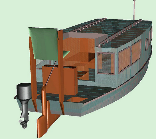 Bolger Canal Houseboat