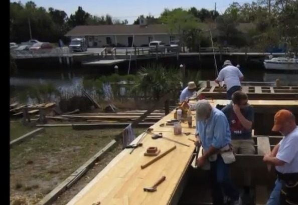 Video:  Building a Sailing Scow