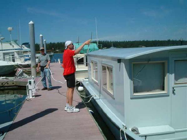 For Sale:  Carolina Skiff Houseboat