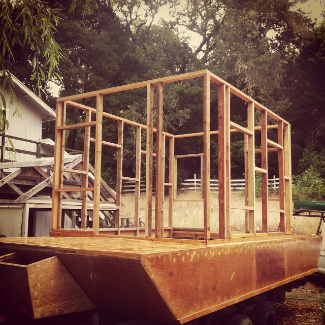 Glen-L Waterlodge Build Progress