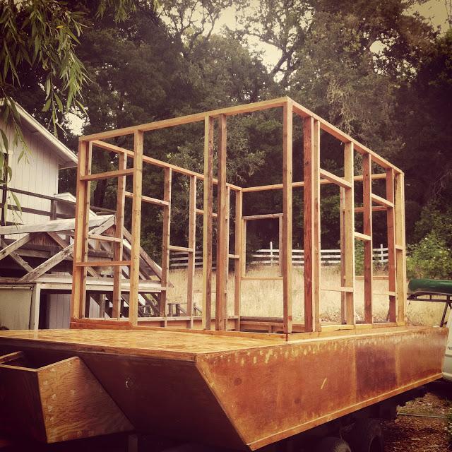 Glen-L Waterlodge Build Progress