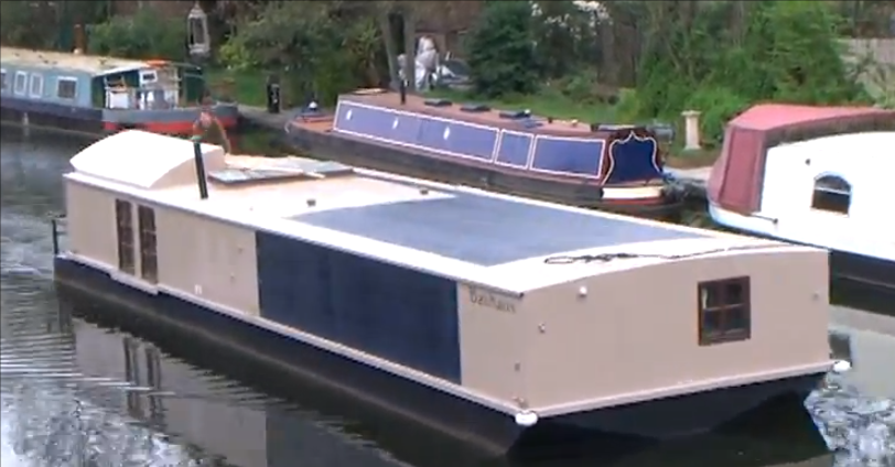 Video: Solar Powered Barge