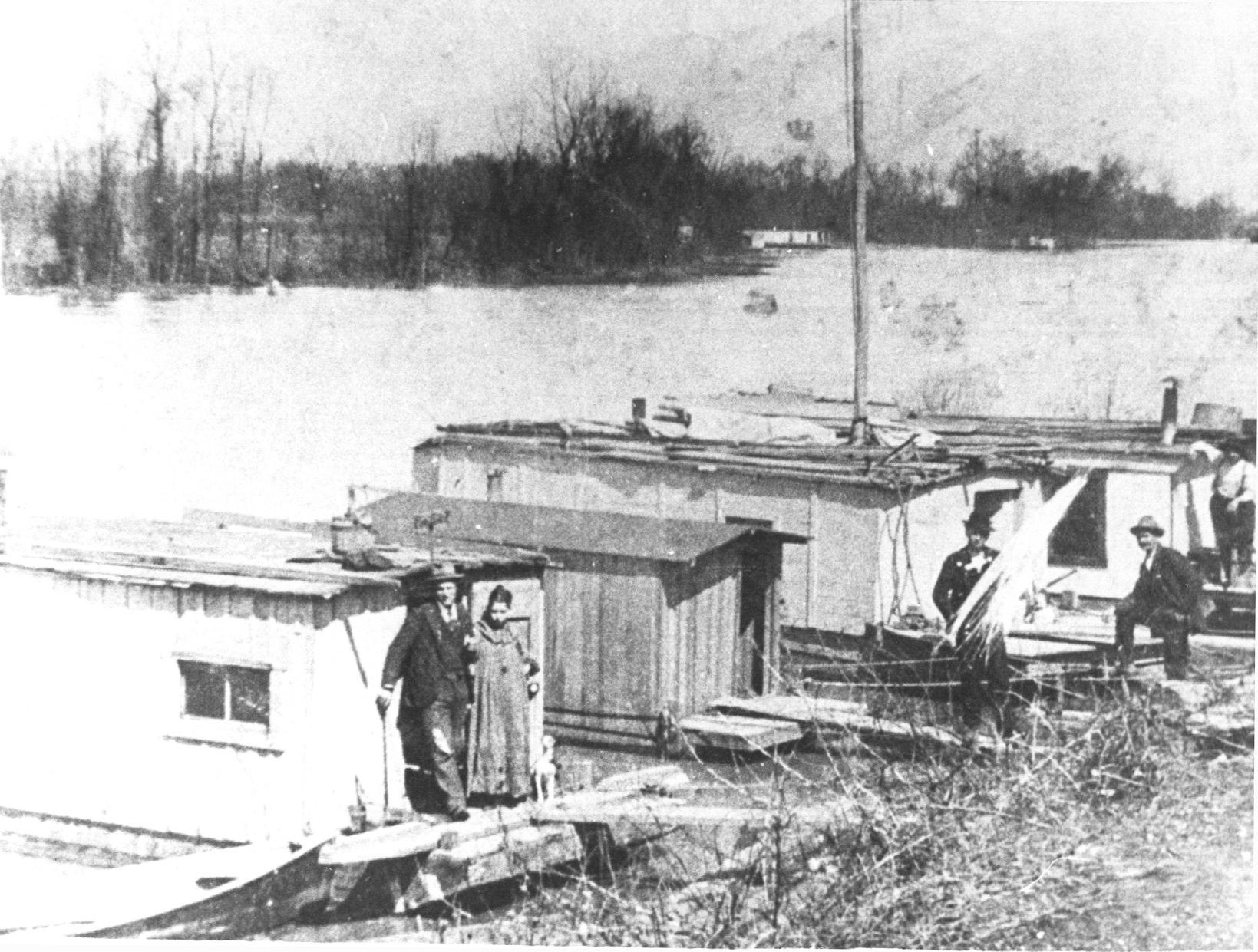 Photo:  Shantyboats on the Bayous