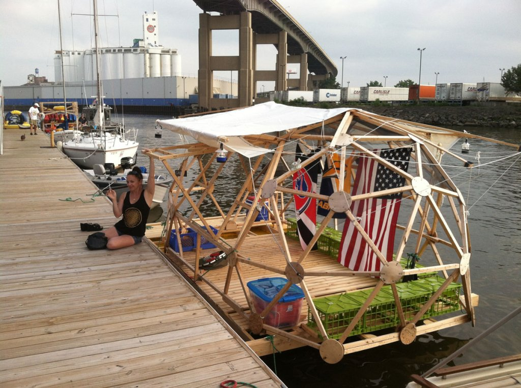 Geodesic Shantyboat Book