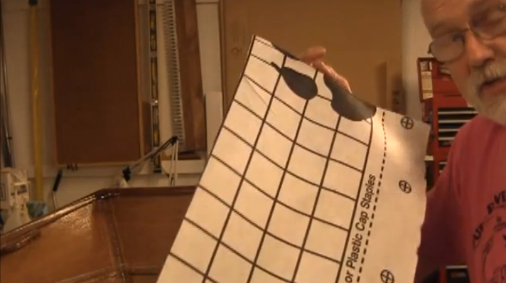 Video:  Cardboard Templates