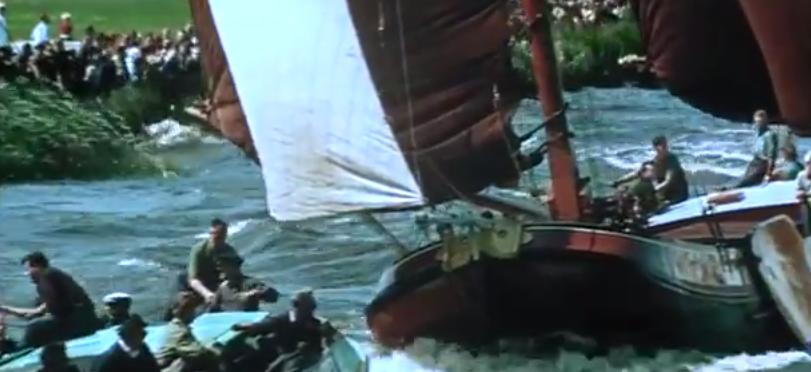 Video:  Sailing Dutch Barges.  Amazing.