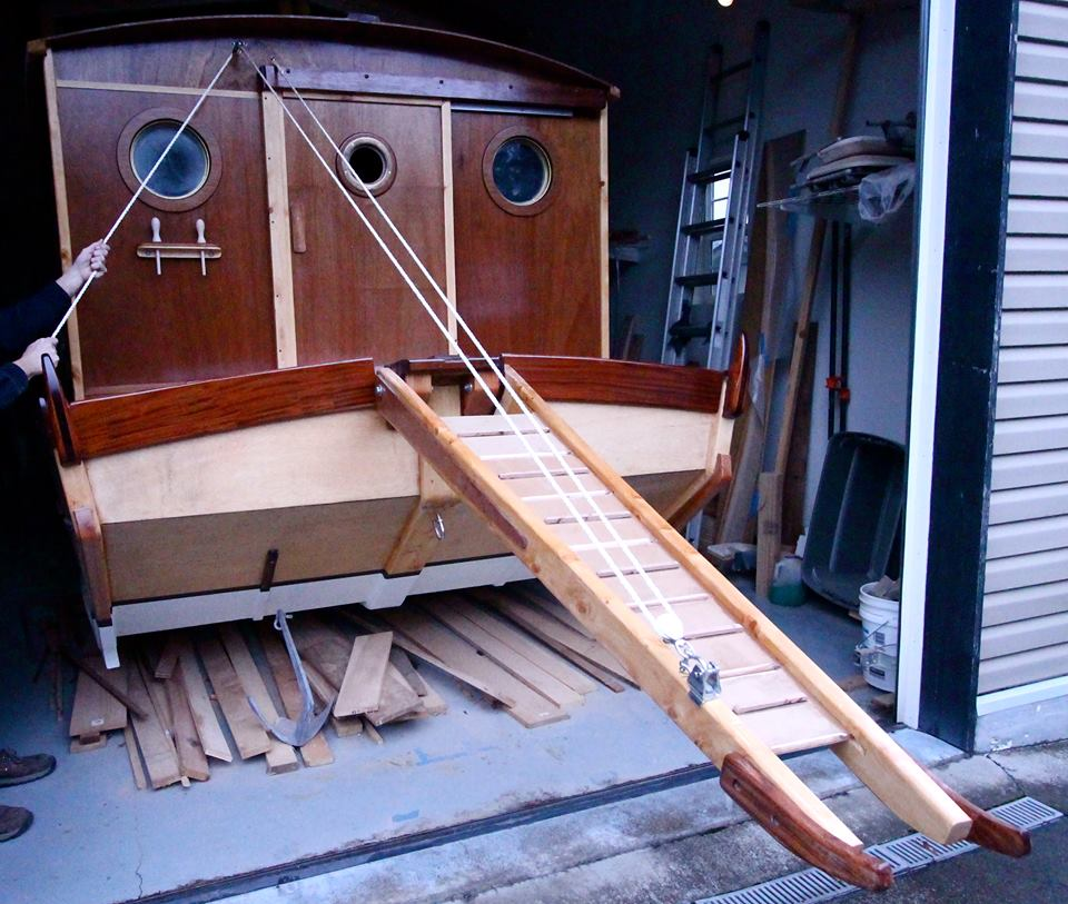 Beautiful Shantyboat Launching Soon