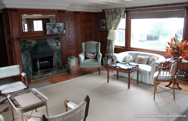 Huge 1904 Houseboat