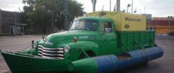 51 Chevy Truck Boat.clipular