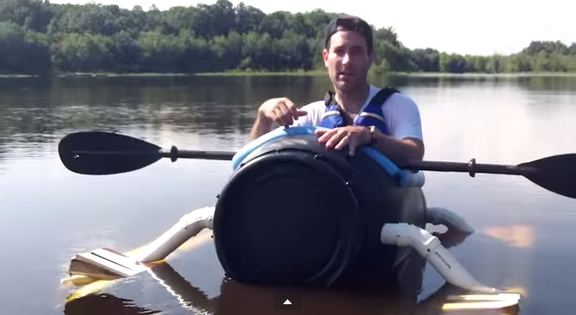 Diy pickle barrel boat - YouTube.clipular