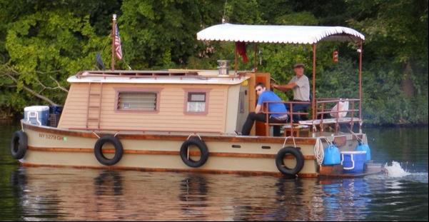Homebuilt Erie Canal Boat