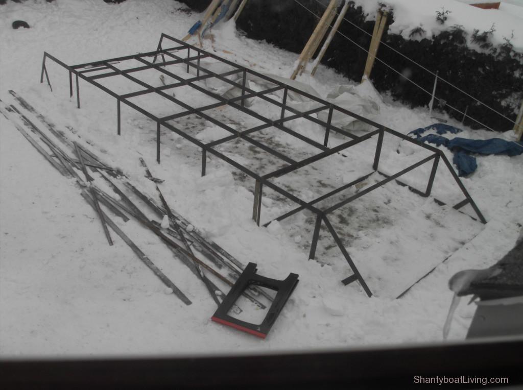 Doug's Workshop: Shantyboat Materials: Steel