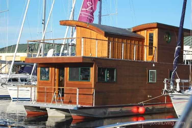 Handcrafted Houseboat
