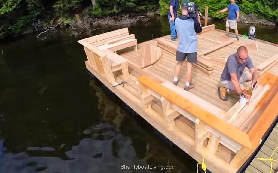 Building a FLOATING Sauna - YouTube.clipular